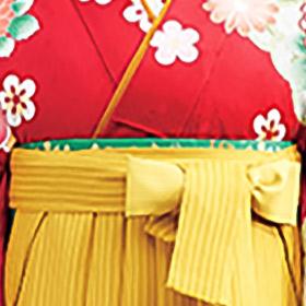 選んだ着物・袴